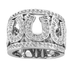 Kelly Herd Multi Horseshoe Ring Best Price