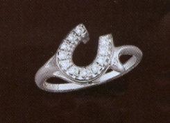 Kelly Herd Offset Horseshoe Ring Best Price
