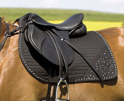 Kieffer All Purpose Rhinestone Saddle Pad Best Price