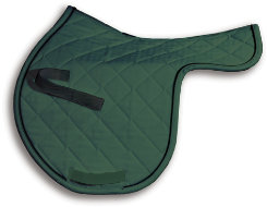 High Point Custom Shaped Jumper Saddle Pad Best Price