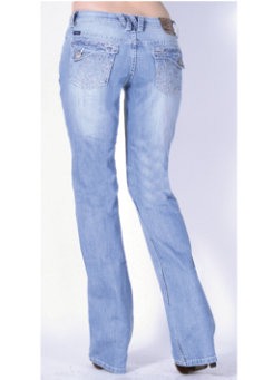 Cowgirl Up Taylor Jeans<font color=#000080>- SIZE:  2 Regular  COLOR:  Lt Stonewash</font> Best Price