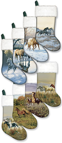 Kelley and Company Horse Reflections Stocking Best Price