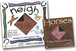 Neigh Rubber Stamps