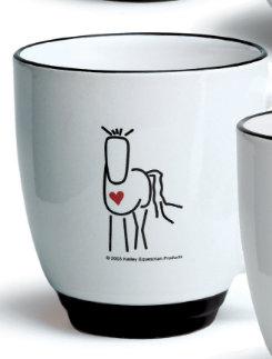 Heart Horse Mug Facing You Best Price