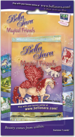 Bella Sara Magical Friends Card Pack