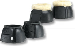 NEW Equine Wear Bell Boots with Fleece