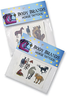 Body Tattoos Horses and Big Horse Head Best Price