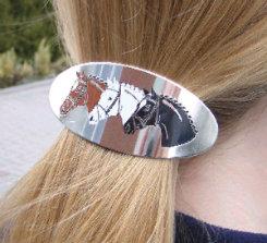 Kelley 3 Horse Head Hair Clip Best Price