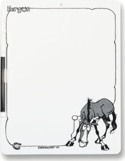 Kelley Equestrian Products Fergus Dry Erase Board Best Price