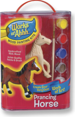 Kelley and Company Works of Ahhh... Prancing Horse Wood Painting Kit Best Price