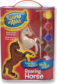 Kelley and Company Rearing Horse Wood Painting Kit Best Price