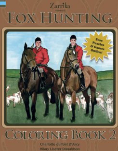 Kelley and Company Fox Hunting Coloring Book Best Price