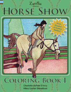 Kelley and Company Horse Show Coloring Book Best Price