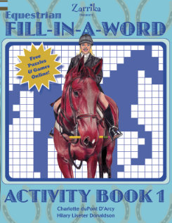 'Kelley & Company Equestrian Fill-In-A-Word Book
