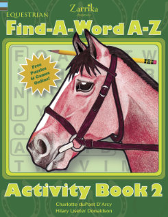 Kelley and Company Horse Find-A-Word A-Z Activity Book Best Price