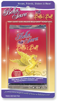Bella Sara Bella's Ball Single Card Pack Best Price