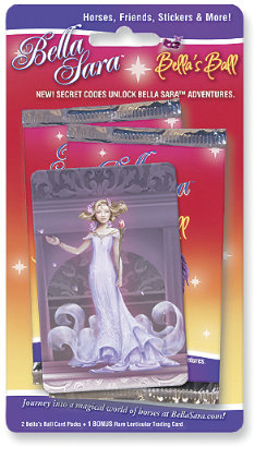 Bella Sara Bella's Ball Double Card Pack Best Price