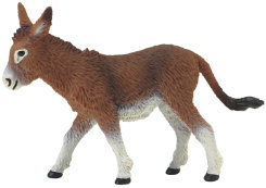 Collectible Toy Donkey Figure