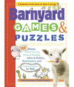 Barnyard Games and Puzzles by Helene Hovanec Best Price