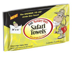 Kelley AntiMonkey Butt Safari Towels Best Price