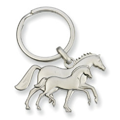 Kelley 3D Mare and Foal Key Chain Best Price