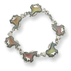 Kelley Galloping Pony Mood Bracelet Best Price