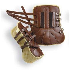Kelley Open Front Fleece Lined Tendon Boots Best Price