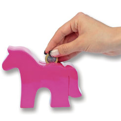 KY Durable Horse Coin Bank Best Price