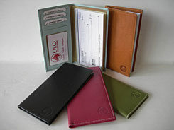 LILO Leather Checkbook Cover Organizer Best Price
