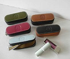 LILO Leather Mirror Lipstick Case Best Price