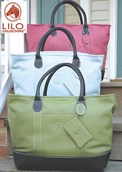 LILO Hamptons Boat Tote Leather Travel Bag Best Price