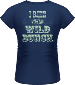 Lucky Bucky Ladies  ... Wild Bunch Tee Shirt Best Price