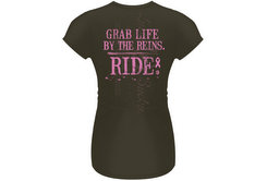 Lucky Bucky Junior Grab Life By The Reins Tee Shirt Best Price
