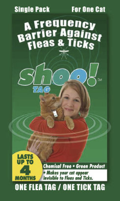 shooTAG for Cats - Flea and Tick Best Price