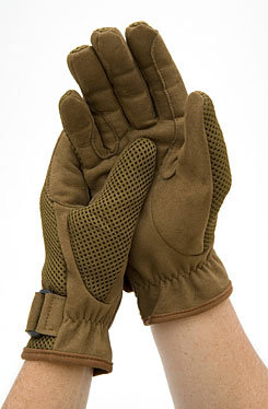 Moxie Air- Puff Riding Gloves<font color=#000080>- SIZE:  M  COLOR:  Brown</font> Best Price