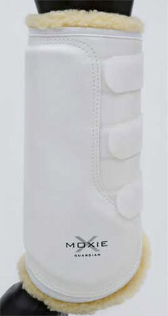 Moxie Guardian Dressage Tall Hind Boot  <font color=#000080>- SIZE:  Medium  COLOR:  White</font> Best Price