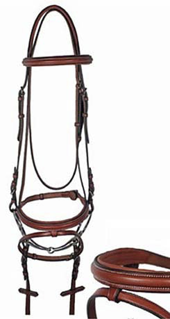Nunn Finer Lamplight Hunter Bridle