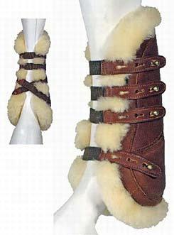 Nunn Finer Sheepskin Open Front Boots Best Price