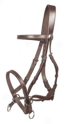 Nurtural Horse Impressive Leather English Bitless Bridle Best Price