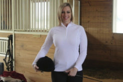 NoZone Ladies Cirrus Equestrian Long Sleeve Shirt Best Price