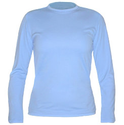 NoZone Ladies Long Sleeve Versatile Tee Shirt Best Price