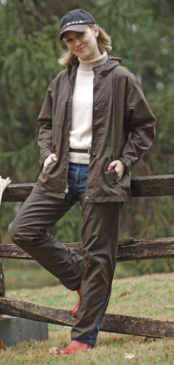 Outback Trading Lined Oilskin Chaps Best Price