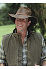 Outback Trading Leather Kodiak Hat