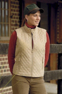 Outback Trading Ladies Grand Prix Quilted Vest Best Price