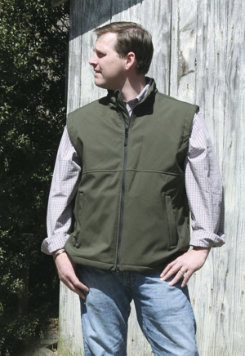 Outback Trading Mens Solid Soft Shell Vest Best Price