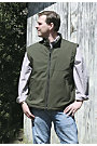Outback Trading Mens Solid Soft Shell Vest