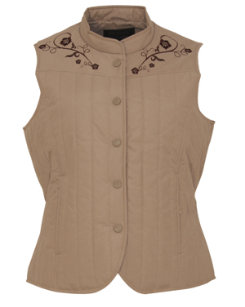 Outback Tradiing Ladies Quilty Vest Best Price