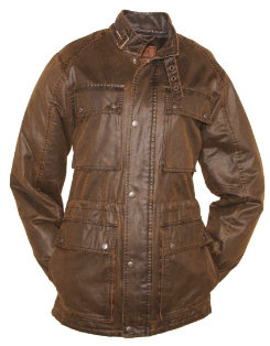 Outback Trading Canyonland Vincent Jacket<font color=#000080>-  Size:  XLarge  Color:  Brown</font> Best Price