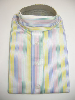 Pale Horse Childs Long Sleeve Cotton Show Shirt<font color=#000080>- Size:  8  Color:  Candy Stripe</font> Best Price