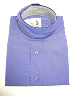 Pale Horse Childs Long Sleeve Cotton Show Shirt<font color=#000080>- Size:  10  Color:  amethyst</font> Best Price